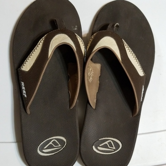 official images best sale clearance prices Reef Sandals Flip Flops 14 M